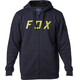 Fox District 2 Zip Fleece Hoody Men Midnight